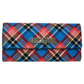 ヴィヴィアンウエストウッド財布 二つ折り長財布 51060017 390107SHUKA TARTAN ANGLO MANIA 【あす楽対応_関東】
