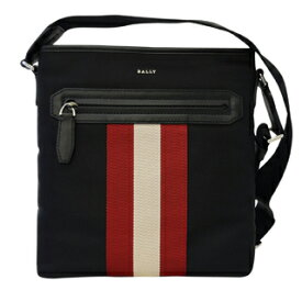 (バリー)BALLY 6220467 BLACK CURRIOS TSP10ストライプ ナイロン クラッチバッグ セカンドバッグ【あす楽対応_関東】