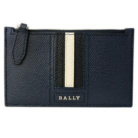 バリー BALLY コインケース 6221812 TENLEY LT17 カードホルダー付き BALLY STRIPE バリーストライプ NEW BLUE ダークネイビー【あす楽対応_関東】