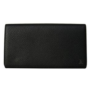 ダンヒル財布 二つ折り長財布 オーガナイザー かぶせ蓋 フラップ ウォレット L2R445A YORK BLACK ブラック 黒 【あす楽対応_関東】
