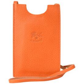 96dbf22b312f イルビゾンテ アイフォンケース iPhone6 iPhone7用C0712 166Orange オレンジ 型押しロゴ メンズ レディース ユニセックス
