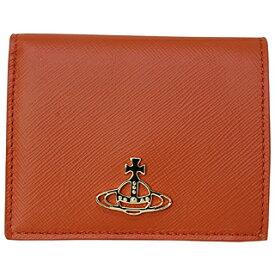 ヴィヴィアンウエストウッド 51010024 40187 F402 オレンジ2つ折り財布 【あす楽対応_関東】