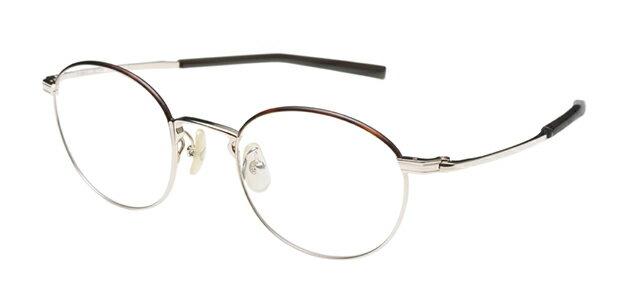 【新品】フォーナインズ999.9眼鏡フレーム S-680T カラー1 ホワイトゴールド セル ケース付き a24