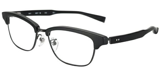 【新品】フォーナインズ999.9眼鏡フレーム M-15 9110 ブラックマット×ブラックマット セル 純正ケース付き e46