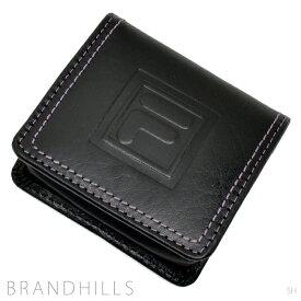 フィラ 財布 メンズ レディース 小銭入れ エフツー ブラック コインケース 61FL25 FILA 新品