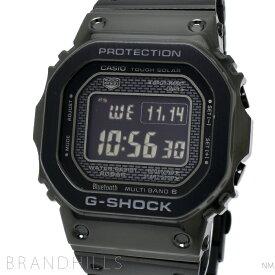 カシオ Gショック 腕時計 ソーラー電波 Bluetooth モバイルリンク デジタル SS ブラック GMW-B5000GD-1JF G-SHOCK CASIO ほぼ未使用 【中古】