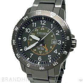 シチズン プロマスター LAND 腕時計 メンズ エコドライブ SS カーキ文字盤 BJ7095-56X CITIZEN 未使用品 【中古】