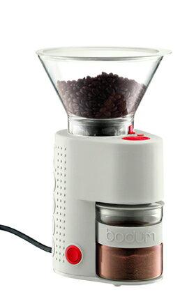 bodum ボダム BISTRO ビストロ 電気式コーヒーグラインダー ホワイト 電動グラインダー