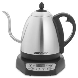 【日本仕様正規品】bonaVITA グースネック 電気湯沸ケトル 1L 29602-J