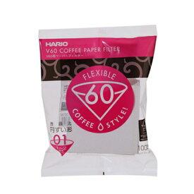 【箱買い×25】ハリオ V60ペーパーフィルター 01酸素漂白【100枚入】 【返品不可商品】