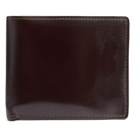 COCOMEISTER 財布 ココマイスター コードバンクラシック スウィープ 馬革 コードバン 小銭入れあり 二つ折り 【中古】