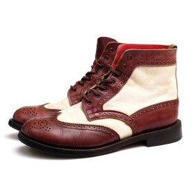 Tricker's ブーツ トリッカーズ YAMANE DELUXE別注モデル カントリーブーツ EVISU 【中古】