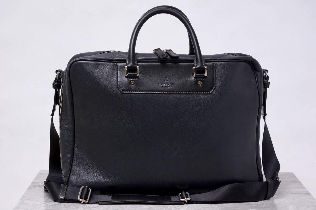LANVIN ランバン/鞄 ビジネスバッグ 2WAY ショルダーバッグ 【中古】【LANVIN】