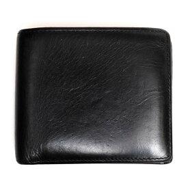 OHBA 大峡製鞄/サイフ 財布 サンタクローチェ 二つ折り 【中古】【OHBA】