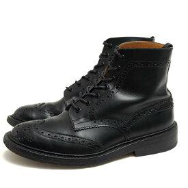 トリッカーズ/Tricker's/M2508 MALTON モールトン Brogue Boots レースアップブーツ 【中古】