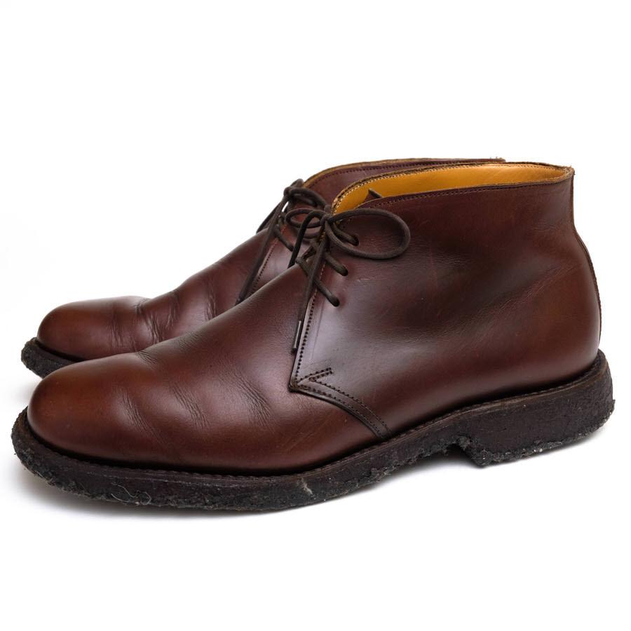 GRENSON グレンソン/チャッカブーツ/boots/shoe/靴 チャッカブーツ 【中古】【GRENSON】