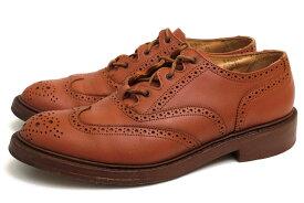 トリッカーズ/Tricker's/M7482 Ghillie Shoe ビジネスシューズ 【中古】
