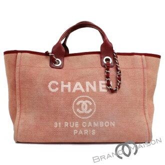 B 排名香奈儿多维尔 A66941 香奈儿香奈儿手提包挎包链袋 2 方式袋女士红色