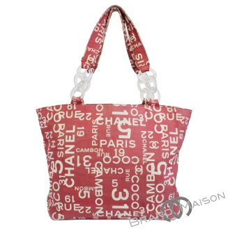 fa4c4d51833c brandmaison: B rank Chanel tote bag A18302 by sea line red CHANEL shoulder  bag shawl Lady's men unisex red | Rakuten Global Market