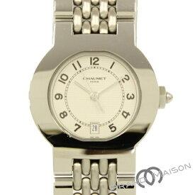 Aランク ショーメ レディースウォッチ 腕時計 CHAUMET 白文字盤 シルバーカラー ステンレス 【中古】