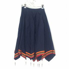 JW Anderson ジェイダブリューアンダーソン 18AW Umbrella Skirt サイズUK8 ネイビー LOOK 3 アンブレラスカート 中古 消費税込 送料無料【Y】