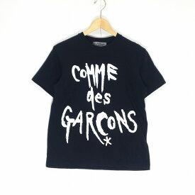 GOOD DESIGN SHOP COMME des GARCONS グッドデザインショップ コムデギャルソン 復刻 ロゴ Tシャツ ブラック サイズM 中古 消費税込 送料無料【Y】