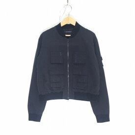 DRESSEDUNDRESSED ドレスドアンドレスド DUS15451 ミリタリー ジャケット サイズ4 ブラック メンズ ブルゾン 中古 消費税込 送料無料【Y】