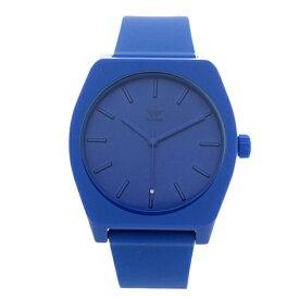 Adidas アディダス 時計 メンズ レディース 腕時計 男女兼用 プロセス お洒落 ブルー 青 柔らかいベルト CJ6357 ビジネス 男性 女性 ユニセックス ペアにおすすめ ブランド 【仕事用】 誕生日 お祝い プレゼント ギフト お洒落
