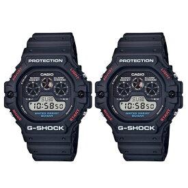 CASIO Gショック 時計 ペアウォッチ 腕時計 メンズ レディース レア レトロ デジタル G-SHOCK ジーショック DW-5900-1DW-5900-1 誕生日プレゼント