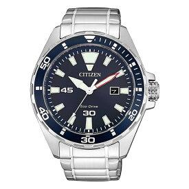 海外モデル CITIZEN シチズン 時計 メンズ 腕時計 Eco-Drive エコドライブ ソーラー 43ミリ ネイビー シルバー ステンレス BM7450-81L 誕生日プレゼント