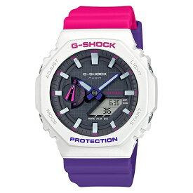 CASIO G-SHOCK Gショック ジーショック カシオ 時計 メンズ レディース 腕時計 BASIC SPECIAL COLOR アナデジ デジタル アナログ 海外モデル GA-2100THB-7A 誕生日 お祝い ギフト おしゃれ オシャレ お洒落 ブランド
