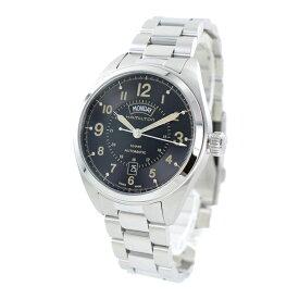 ハミルトン 時計 メンズ 腕時計 カーキフィールド デイデイト オート 機械式自動巻き シースルーバック ミリタリー H70505933 誕生日プレゼント