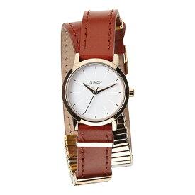 【全品対象クーポン配布中 あす楽】Nixon ニクソン 時計 レディース 腕時計 The Kenzi Wrap ローズゴールド×ブラウン 2重巻き 二重巻き レザー A403-1749 誕生日 お祝い ギフト おしゃれ オシャレ お洒落 ブランド