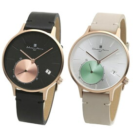 国内正規品 サルバトーレマーラ 腕時計 ペアウォッチ メンズ レディース 男女兼用 シンプル モダン ペア 時計 SM20105-PGBKSM20105-PGSV 誕生日 お祝い ギフト