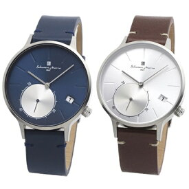 国内正規品 サルバトーレマーラ 腕時計 ペアウォッチ メンズ レディース 男女兼用 シンプル モダン ペア 時計 SM20105-SSBLSM20105-SSSV 誕生日 お祝い ギフト