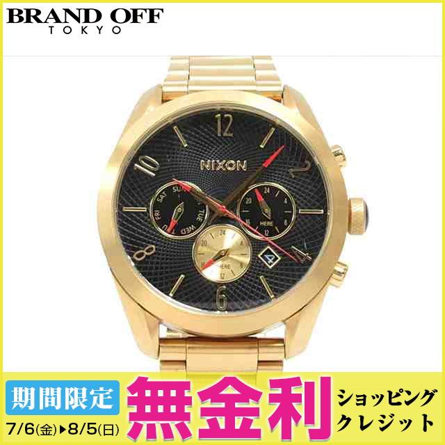 【最大24回まで無金利】【セール】 【中古】ニクソン バレット クロノ 腕時計 ウォッチ 時計 メンズ (A366510) (201806)   送料無料 メンズ腕時計 ブランド腕時計 防水 ブランド おしゃれ ビジネス カジュアル 男性