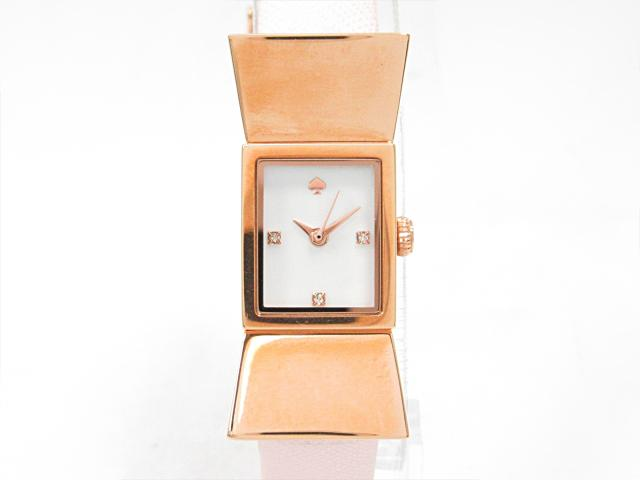 【中古】 ケイトスペード 腕時計 ウォッチ 時計 レディース (SS)xレザーベルト (KS1YRU0763) ブランドオフ sale | レディース腕時計 ブランド時計 女性 ブランド おしゃれ うでどけい (201801)