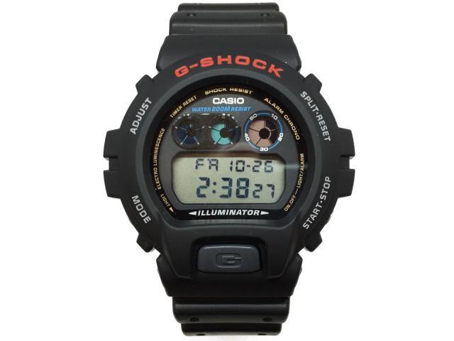 カシオ G-SHOCK 時計 デジタル クォーツ 時計 メンズ ラバー ブラック (DW69001VDR)