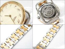 【中古】エルメスアルソー腕時計ウォッチ時計ユニセックスステンレススチール(SS)xGP