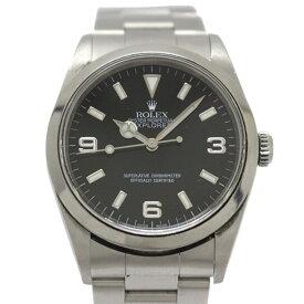 ロレックス エクスプローラー 1 メンズウォッチ 腕時計 時計 メンズ ステンレススチール (SS) -14270 【中古】   ROLEX BRANDOFF ブランドオフ ブランド ブランド時計 ブランド腕時計 ウォッチ