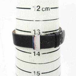 【中古】ブルガリB-zero1ダブルハートウォッチ腕時計時計レディースステンレススチール(SS)xレザーベルト(BZ22S)