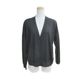 【中古】ステラ マッカートニー カーディガン 衣料品 レディース ウール70%×シルク30% ブラック