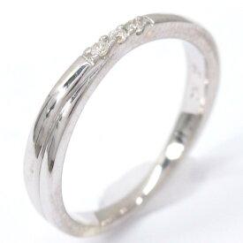 ヨンドシー ダイヤモンド リング 指輪 ブランドジュエリー レディース K10WG (420) ホワイトゴールドxダイヤモンド シルバー 【中古】 | 4℃ BRANDOFF ブランドオフ ブランド ジュエリー アクセサリー 宝石