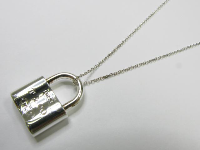 【中古】ティファニー 1837ロックネックレス SIL レディース SV