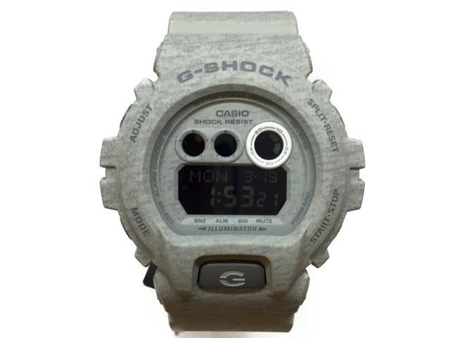 カシオ G-SHOCKヘザードカラー 時計 デジタル クォーツ メンズ ラバー グレー (GDX6900HT8DR)