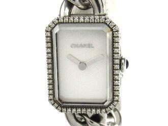 Auth CHANEL 香奈儿 Premiere Bezel 手表 Stainless steel (SS) x diamond Vintage   BRANDOFF 柏欧福