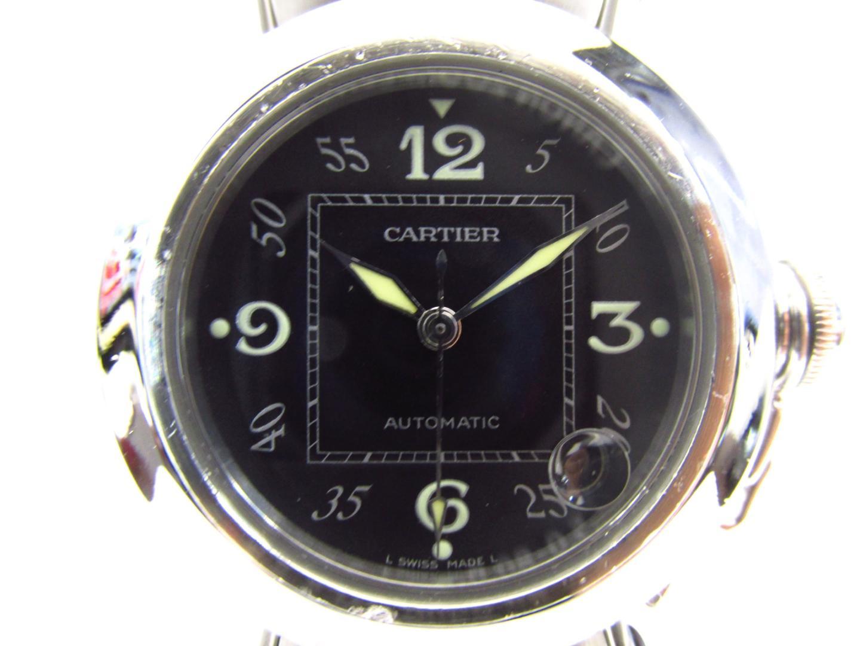 【中古】【送料無料】 カルティエ パシャC 腕時計 ウォッチ メンズ レディース ステンレススチール (SS)   Cartier オートマチック 自動巻き 時計 パシャC 美品 ブランドオフ BRANDOFF