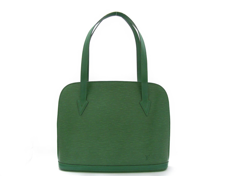 【中古】 ルイヴィトン リュサック ショルダーバッグ メンズ レディース エピ ボルネオグリーン (M52284) | LOUIS VUITTON ショルダーバック ショルダー 肩がけ バッグ バック BAG ブランドバッグ ブランドバック カバン 鞄 美品 ブランドオフ BRANDOFF