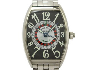 Auth FRANCK MULLER Tonneau carbex vegas watch 6850 Automatic Stainless steel  | BRANDOFF Ginza/TOKYO/Japan