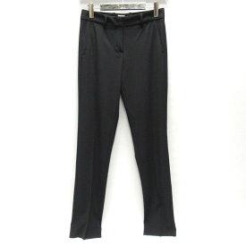 【中古】 アルマーニ・コレツィオーニ パンツ レディース ウール (96%) x ポリウレタン (4%) ブラック | ARMANI COLLEZIONI 衣類 パンツ 美品 ブランドオフ BRANDOFF